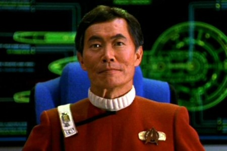 George Takei as Captain Sulu in 'Star Trek VI: The Undiscovered Country'