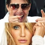 Tom Cruise and Cameron Diaz
