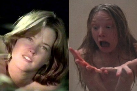 Melanie Griffith in 'Joyride'; Sissy Spacek in 'Carrie'