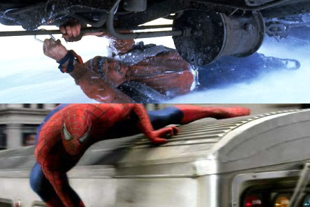 Top: 'Runaway Train,' bottom: 'Spider-Man 2'
