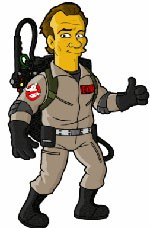 ghostbusters simpsons