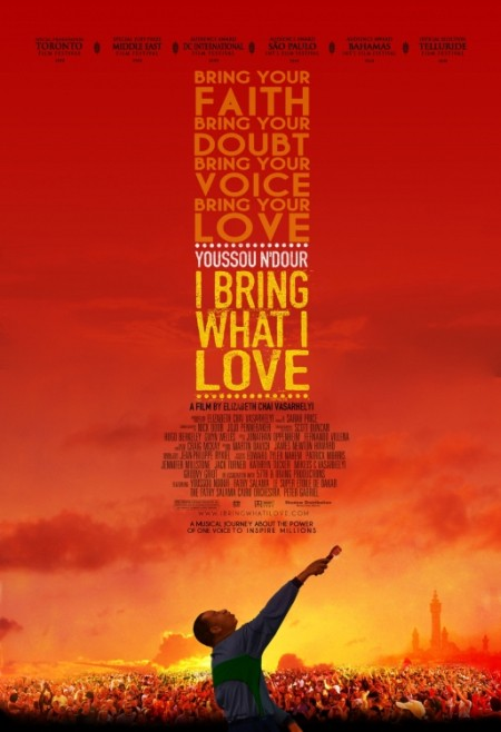 Poster for 'Youssou N'Dour: I Bring What I Love'