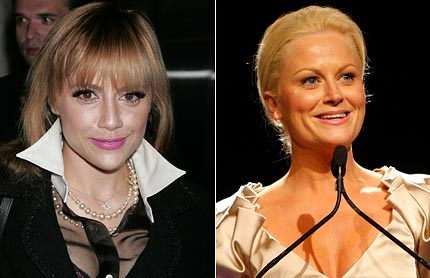 Brittany Murphy and Amy Poehler
