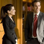 Sandra Bullock and Ryan Reynolds in The Proposal