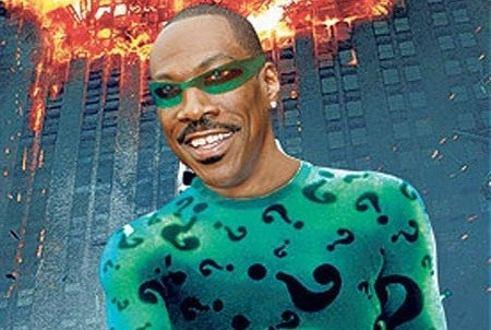 Eddie Murphy is Not The Riddler ... But He Wants to Be Egghead