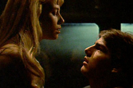 Rebecca DeMorney and Tom Cruise in 'Risky Business'