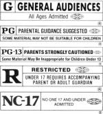 MPAA Movie Ratings