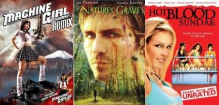 This Week's Discs: 'Machine Girl,' 'Nature's Grave,' 'Hot Blood Sundae'