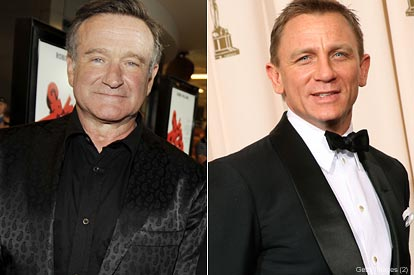 Robin Williams Daniel Craig