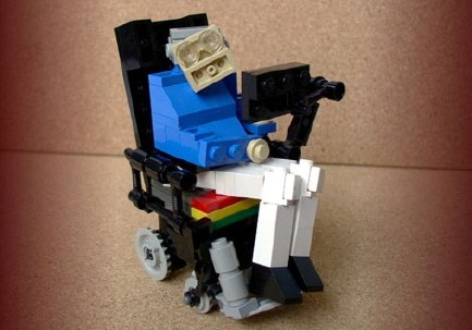 lego world of warcraft characters. Lego Stephen Hawking.