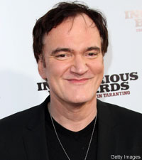 Quentin Tarantino at the Inglorious Basterds premiere