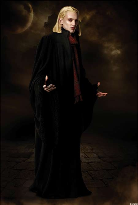 Volturi Caius played by Jamie Campbell Bower Twilight movie