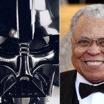 James Earl Jones as the voice of Darth Vader in 'Star Wars'