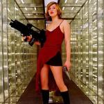 Milla Jovovich in 'Resident Evil'