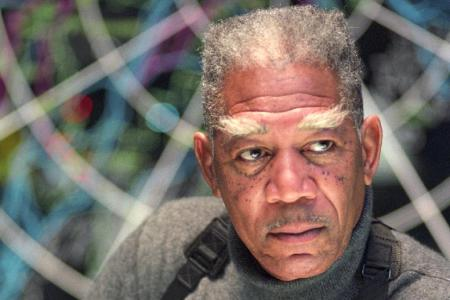 Morgan Freeman in 'Dreamcatcher'