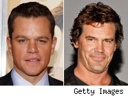 Matt Damon and Josh Brolin