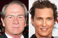 Tommy Lee Jones and Matthew McConaughey