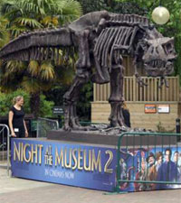Rexy from Night at the Museum 2