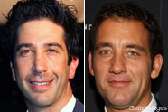 David Schwimmer and Clive Owen