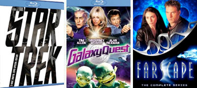 star trek galaxy quest blu-ray farscape dvd