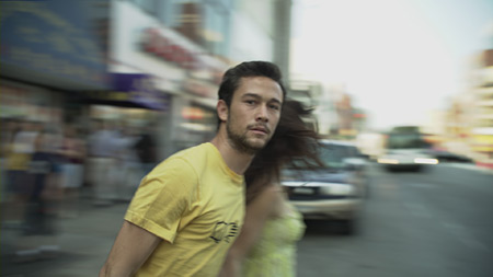 Joseph Gordon-Levitt and Lynn Collins in Uncertainty