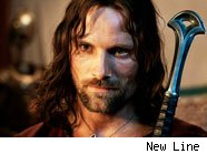 Viggo Mortensen in 'Lord of the Rings'