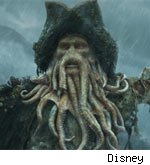 Davy Jones Pirates of the Caribbean