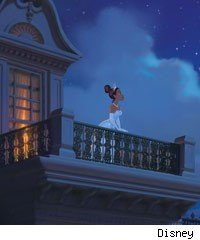 Scene from The Princess and the Frog