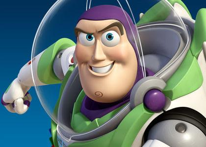 Buzz Lightyear in 'Toy Story'