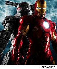 'Iron Man 2' poster offers War Machine first look