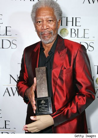 Morgan Freeman's Hand Sparks Debate