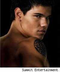 The Twilight Saga: New Moon, Taylor Lautner as Jacob Black
