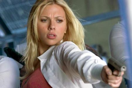 Scarlett Johansson in 'The Island'