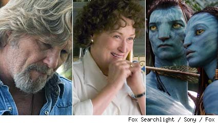 Crazy Heart / Julie and Julia / Avatar