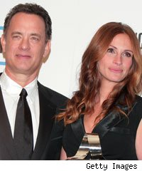 Hanks and Roberts Team for 'Larry Crowne'