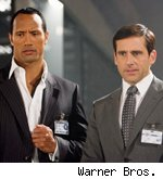 The Rock/Steve Carell in 'Get Smart'
