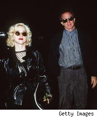 Madonna and Warren Beatty