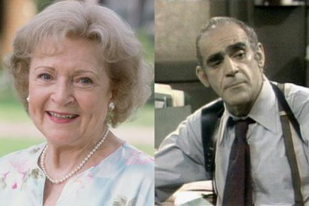 Betty White, Abe Vigoda