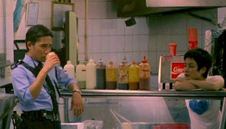 Tony Leung Chiu-Wai and Faye Wong in Wong Kar-Wai's 'Chungking Express'