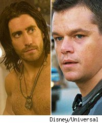 Jake Gyllenhall and Matt Damon