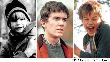 Justin Henry, Timothy Hutton and Leonardo DiCaprio