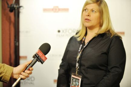 Writer-director Paige Williams at the 2010 Oxford Film Festival.