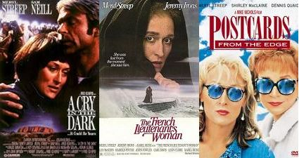 Meryl Streep movie posters