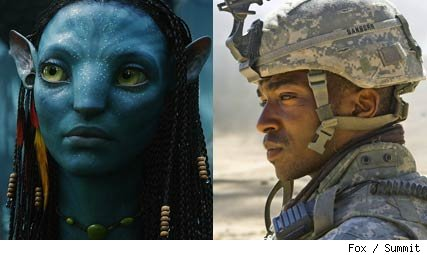 Avatar vs Hurt Locker