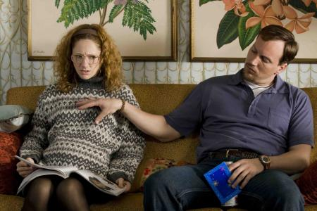 Judy Greer and Patrick Wilson in 'Barry Munday'