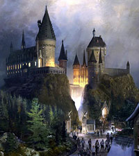 Hogwarts Castle at the Wizarding World of Harry Potter in Universal Florida