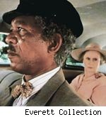 morgan freeman and jessica tandy in 'driving miss daisy'