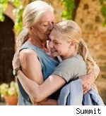 seyfried and redgrave in 'letters to juliet'