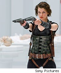 Milla Jovovich in 'Resident Evil: Afterlife'