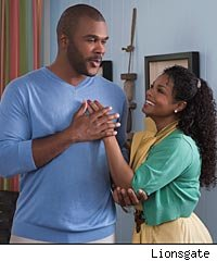 janet jackson and tyler perry in Why Did I Get Married Too?
